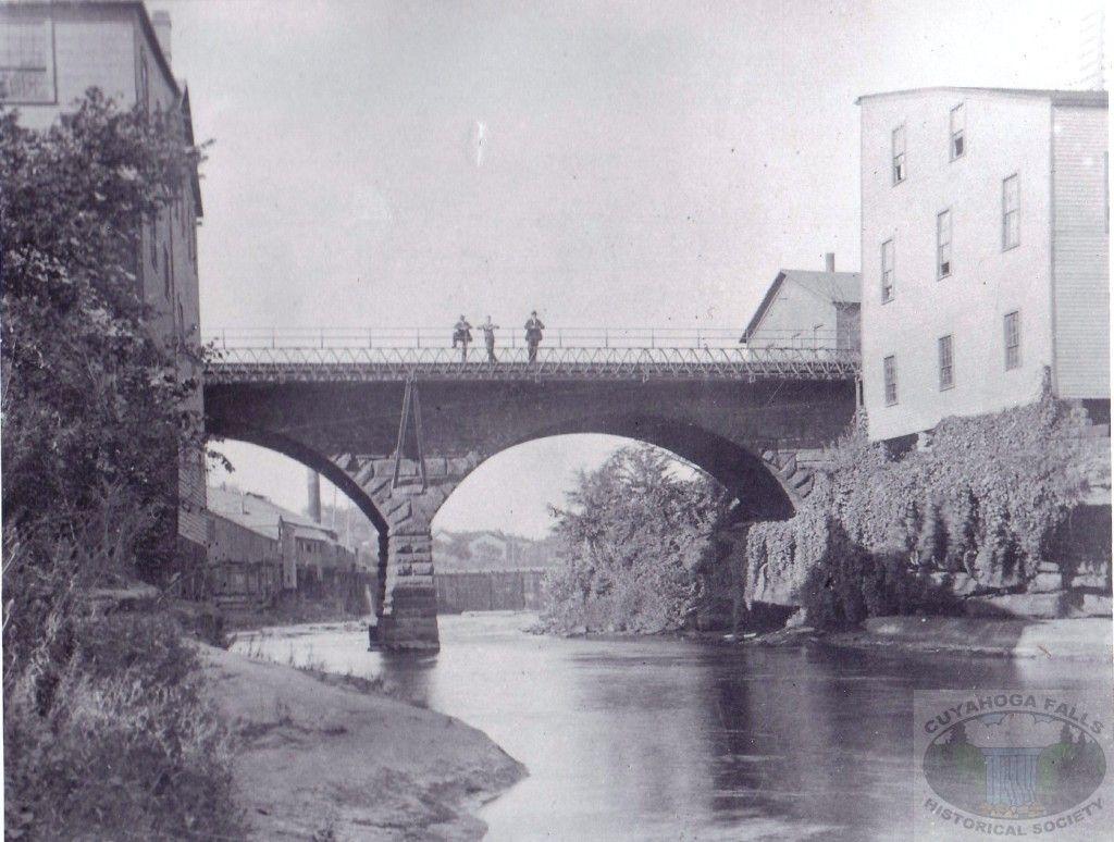 Portage Street Bridge 1891 Cuyahoga falls, Cuyahoga