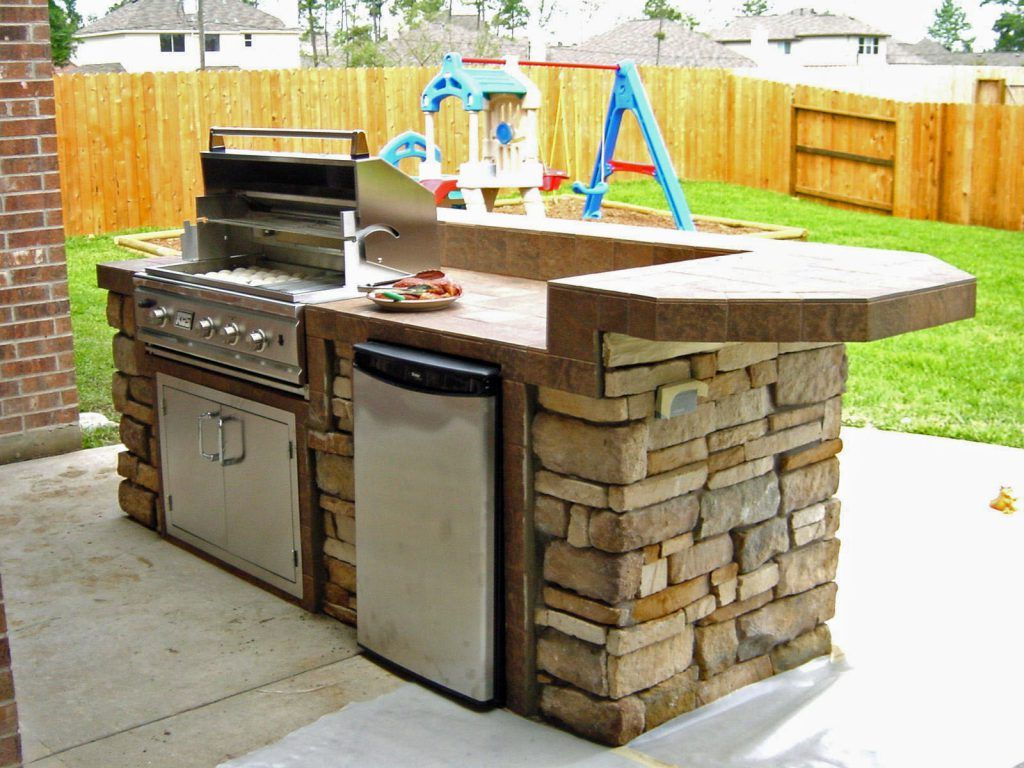 Exterior Affordable Outdoor Kitchen Ideas Wood Also Outdoor Kitchen Ideas Pics Unconventional Kitchen Ideas Dapur Idaman Dapur Rumah
