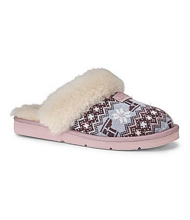 29bcd047e89 UGG Australia Womens Cozy Nordic Knit Slippers | ugg sales | Uggs ...