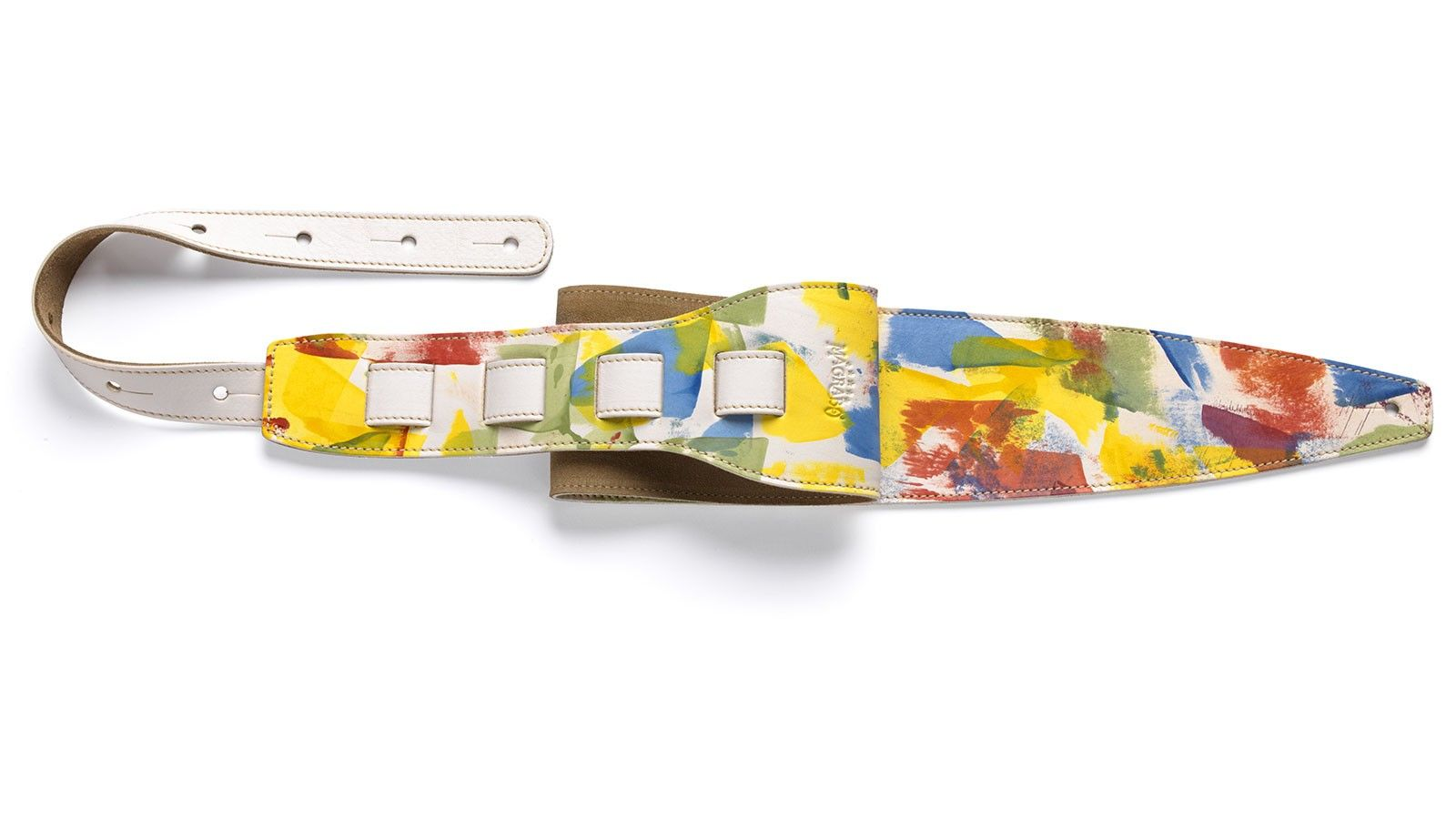Tracolla chitarra Paint Spatolato Venezia Bianco 10 cm
