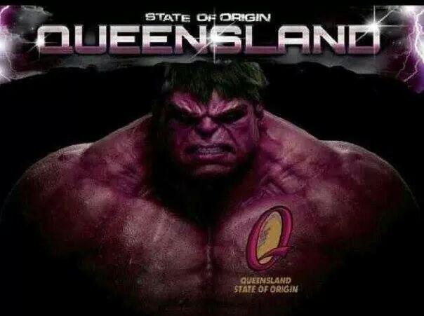 Queensland State Of Origin Hulk Google Search The Originals Sports Hero Rugby League