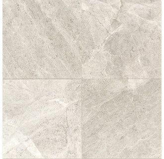 "View the Daltile L757-44TS1P Limestone Arctic Gray 4"" x 4"" Tumbled Stone Multi-Surface Tile at Build.com."