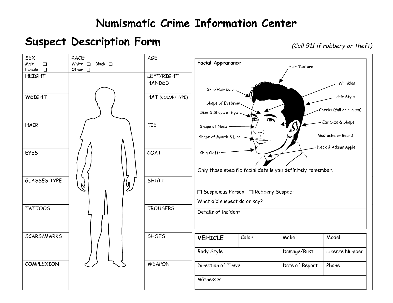 Suspect File Template  Recherche Google  Detective Lesson Ideas