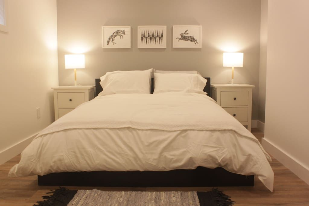 Airbnb Apartment In Ottawa Canada 96 Usd Per Night Newly Renovated 900 Sq Ft Basement Apartment Bright Spacious Wi Luxury Queen Bed Large Bedroom Room