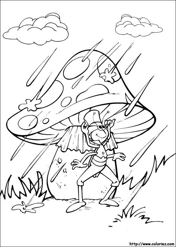 Maya the Bee coloring picture | !My coloring pages | Pinterest ...