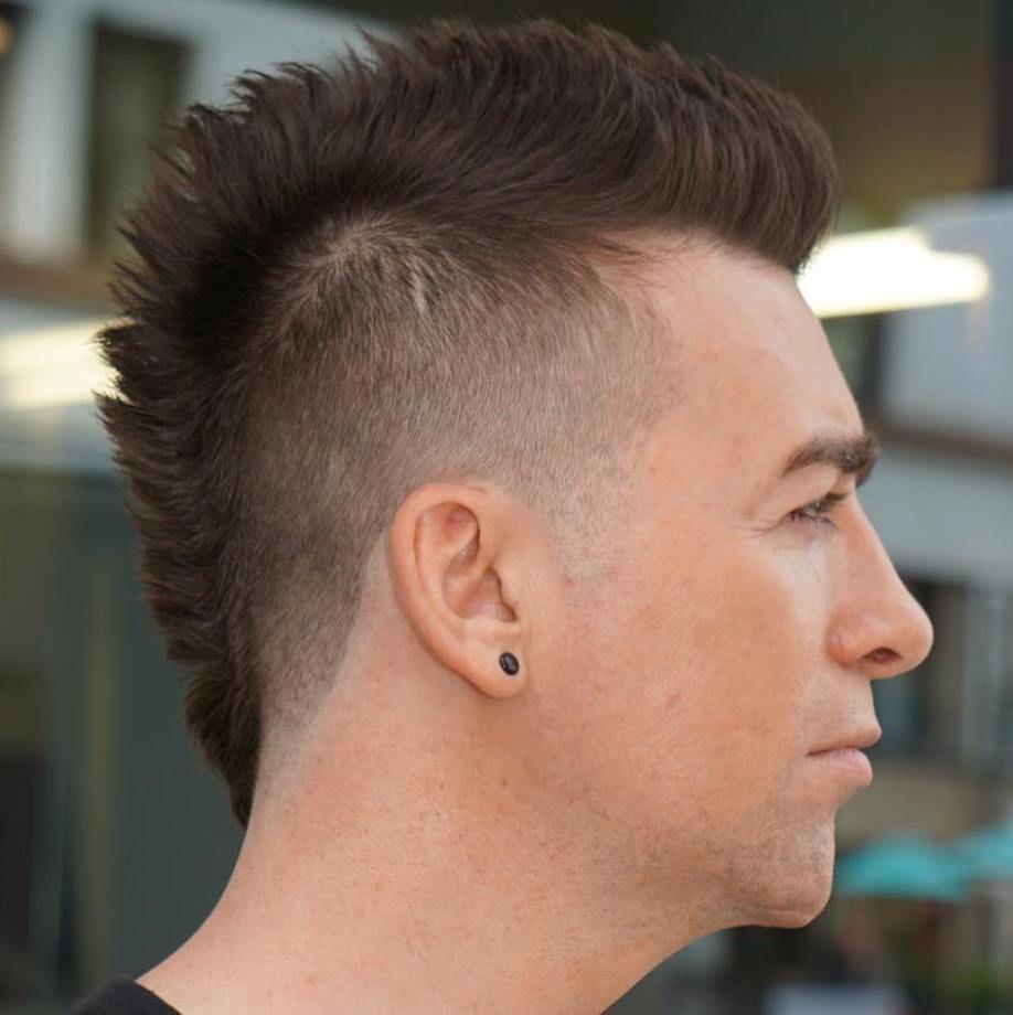 10++ Faux hawk thin hair trends