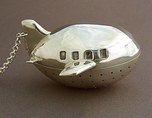 custom made airplane tea infuser. I desperately need this asap.