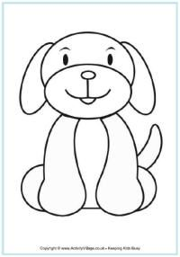 Farm Colouring Pages Dog Coloring Page Dog Quilts Animal Coloring Pages