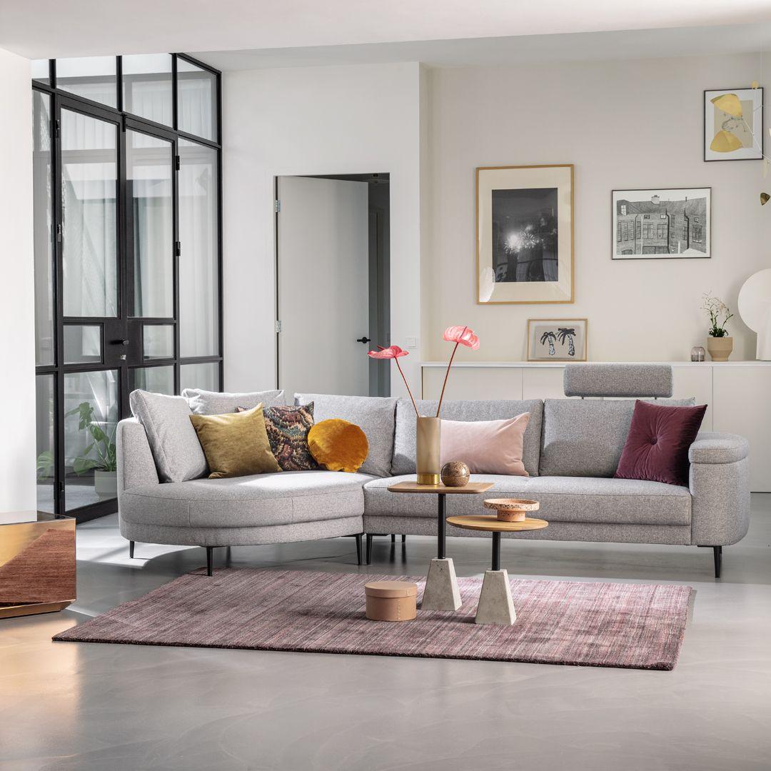 Leren Bankstel Montel.Montel Bank Met Longchair Balance In 2020 Woonkamerbank Thuis