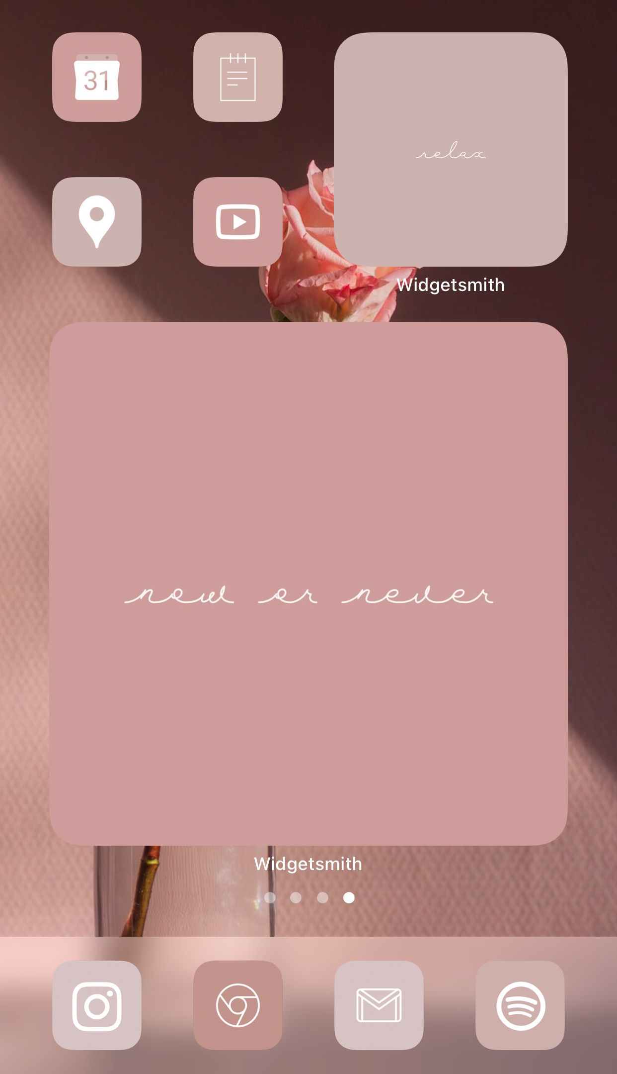 Warm Rose Neutral Aesthetic Iphone Home Screen Ideas Inspo Inspiration App Covers App Icons Ios 14 In 2020 Inspiration App Iphone App Layout Iphone App Design