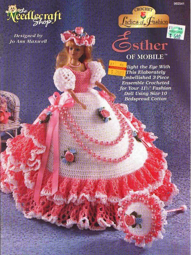 Crochet Toys and Barbie/Doll Clothes: January 2014 | Barbiekläder o ...