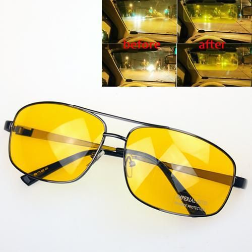 671fd59118f4 Price tracker and history of Brand Driver Driving HD High Definition Night  Vision Sunglasses Yellow Lens