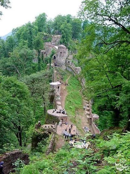 Castle in Iran..