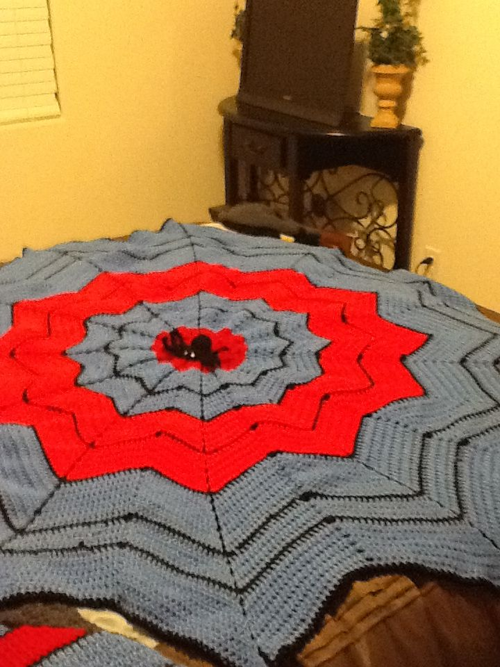 Perfect gift for that Spider man fan young or old. This spiderweb ...