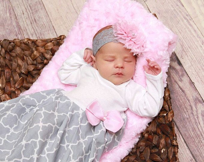 Newborn baby girl take home beaded layette gown | Frses, Ropa de ...