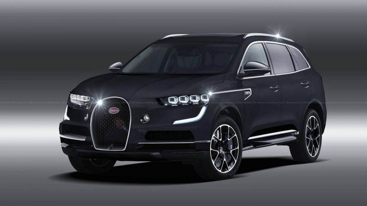 2020 Bugatti Suv Render Looks Ready For Production With Images