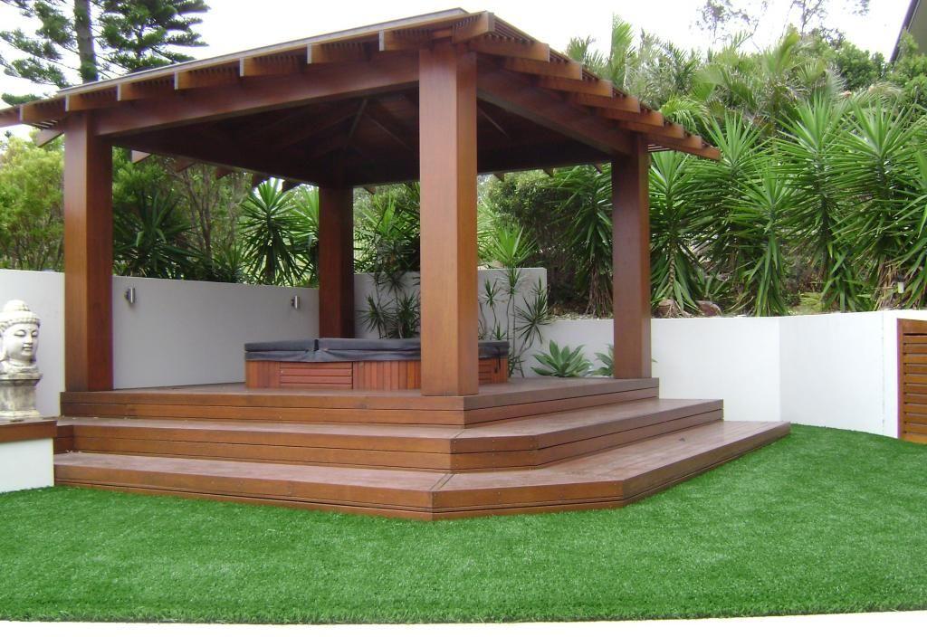 idea for spa           outdoor living design ideas