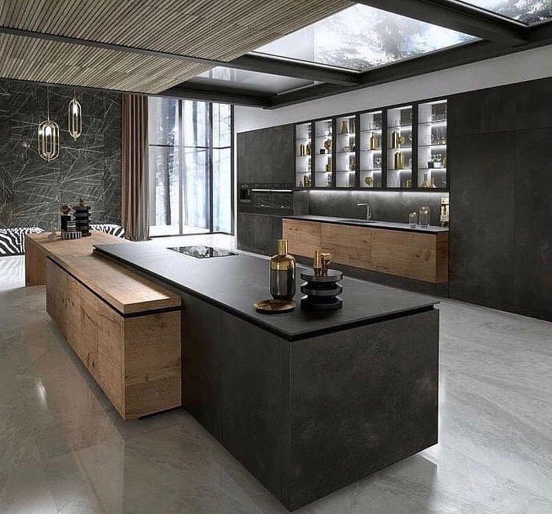 "Inspiration Cuisine En U interior design inspiration on instagram: ""@homes2inspire"