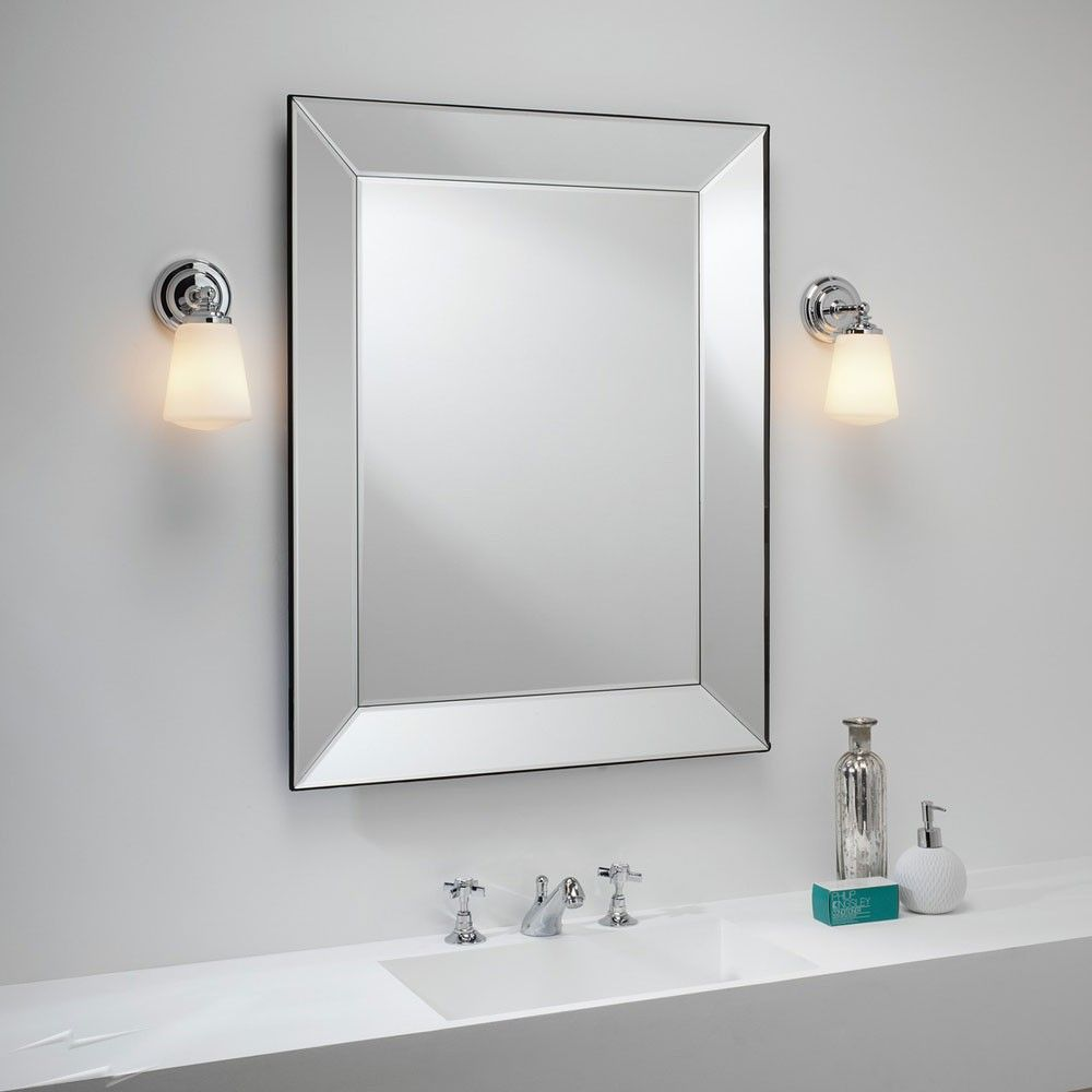 Ax0507 Anton Polished Chrome Bathroom Wall Light With Opal Glass Diffuser Ip44 Using E14 Ses Max 40w Astro 1106001 Glass Wall Lights Wall Lights Bathroom Wall Lights