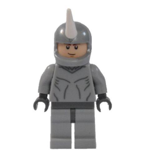 Lego Marvel Super Heroes CUSTOM Spiderman Foe The Rhino