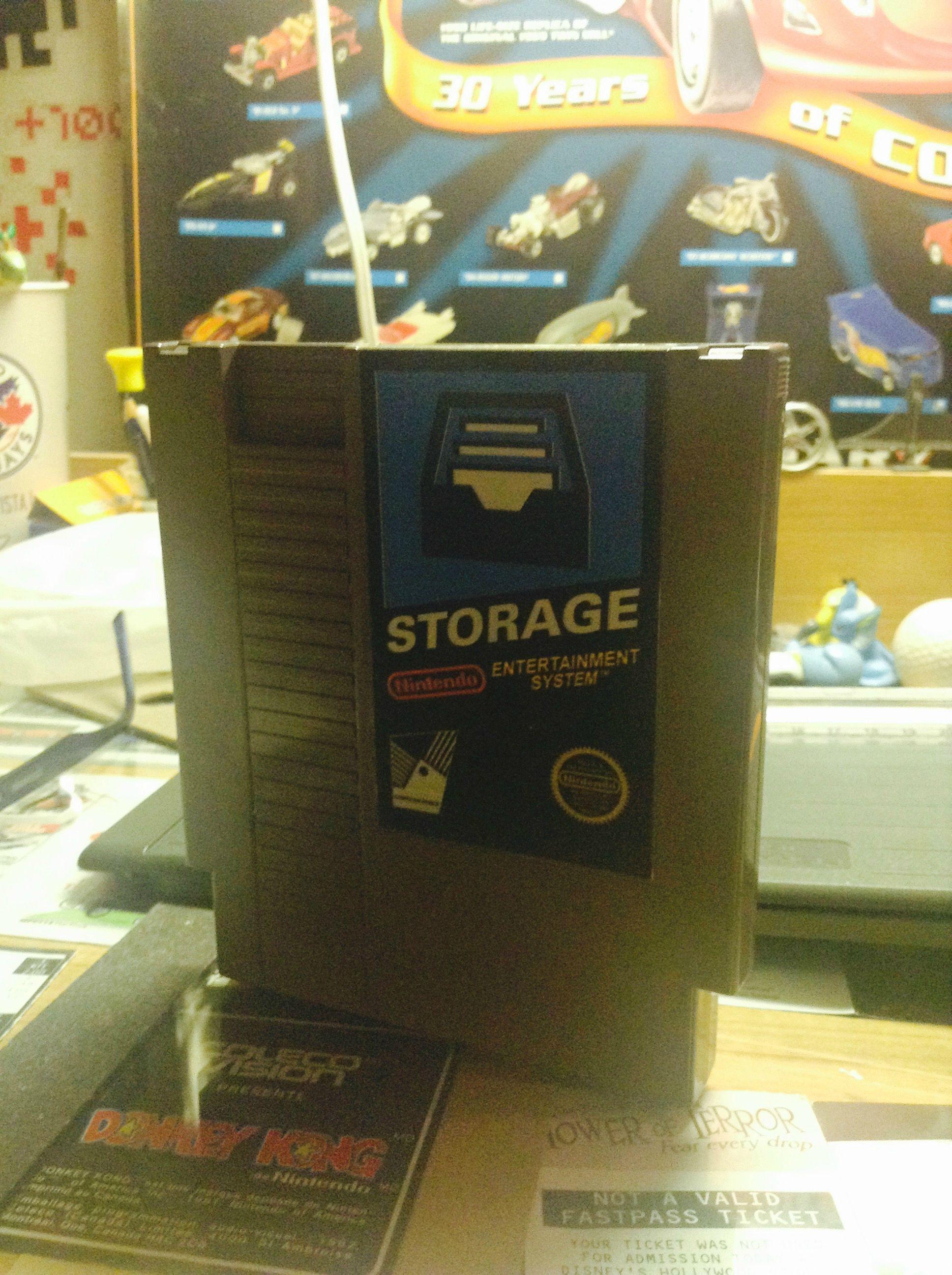 I made a NES cartridge into a hard drive enclosure   Reddit Stuff
