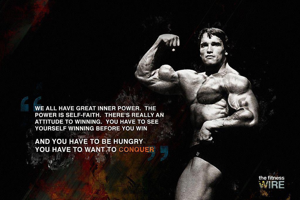 Arnold Schwarzenegger Conquer Quotes Poster Conquer Quotes