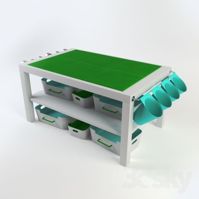 diy lego table ikea lack lego pinterest salles de. Black Bedroom Furniture Sets. Home Design Ideas