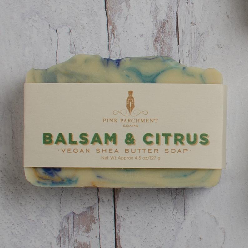 Balsam & Citru Soap - Stocking Stuffer For Men - Unique Gifts For Him - Husband Gift - Boyfriend Gift #stockingstuffersformen