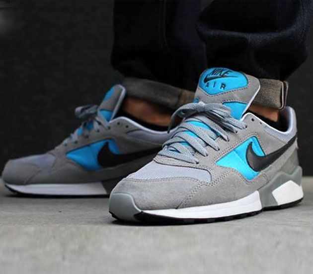 new styles a265d 4eed3 Nike Air Pegasus 92 – Wolf Grey  Deep Smolder – Blue Hero – Black
