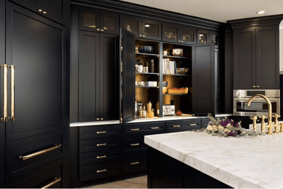 black cabinets with gold hardware buy cabinets kitchen and bath design kitchen cabinet hardware on kitchen cabinets gold hardware id=53095