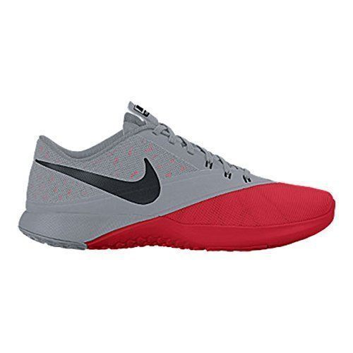 Nike FS Lite Trainer 4 Mens Shoes 13 University Red Stealth Black 844794 600