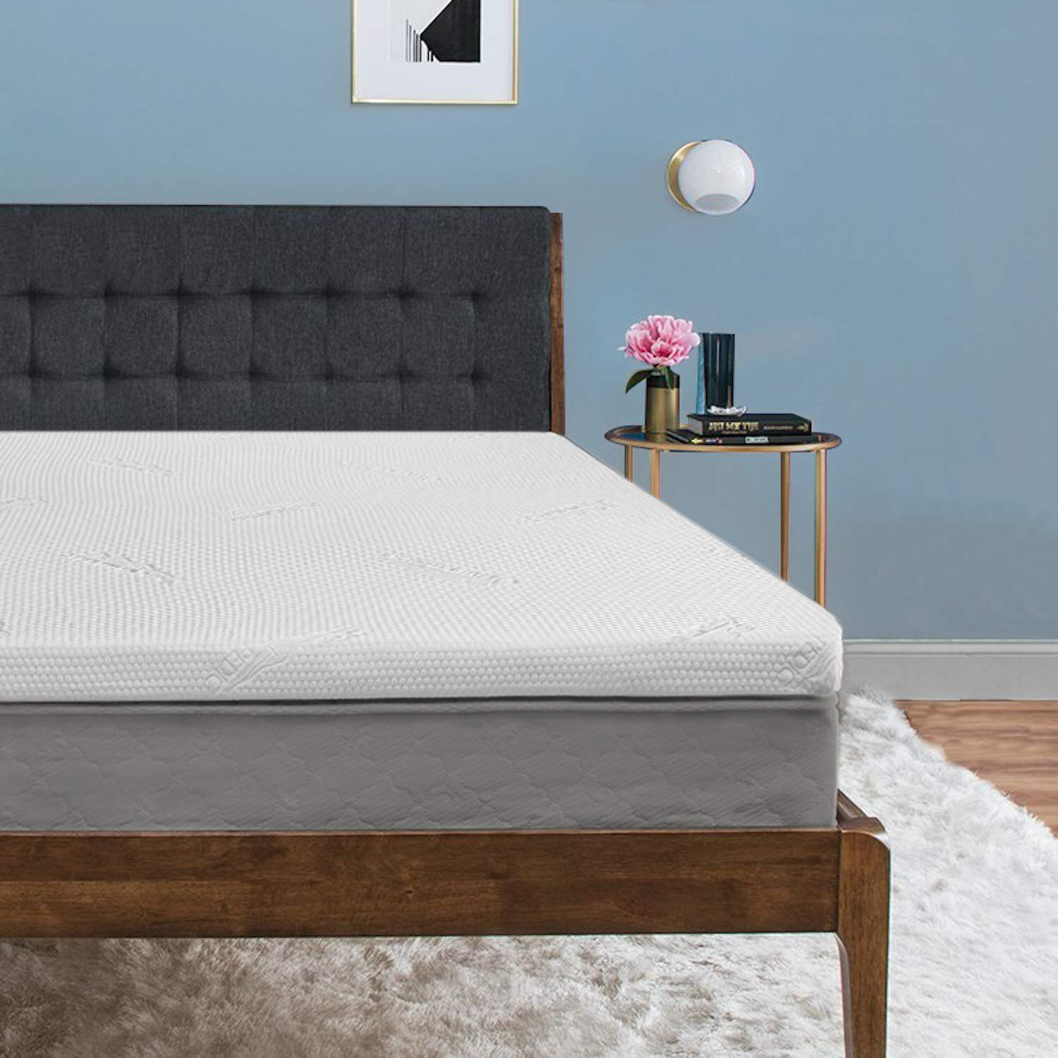 The 11 Best Mattress Toppers According To Customers Queen Mattress Topper Tempurpedic Mattress Mattress Topper