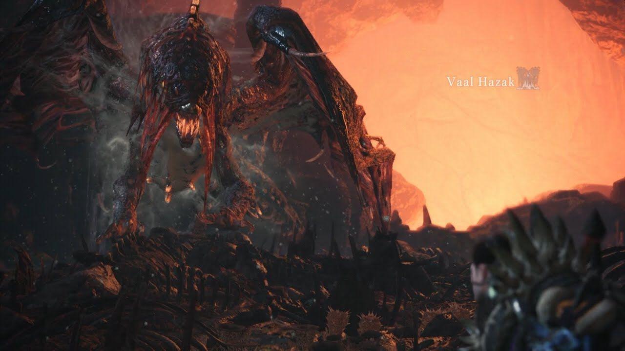 Vaal Hazak Monster Hunter Monster