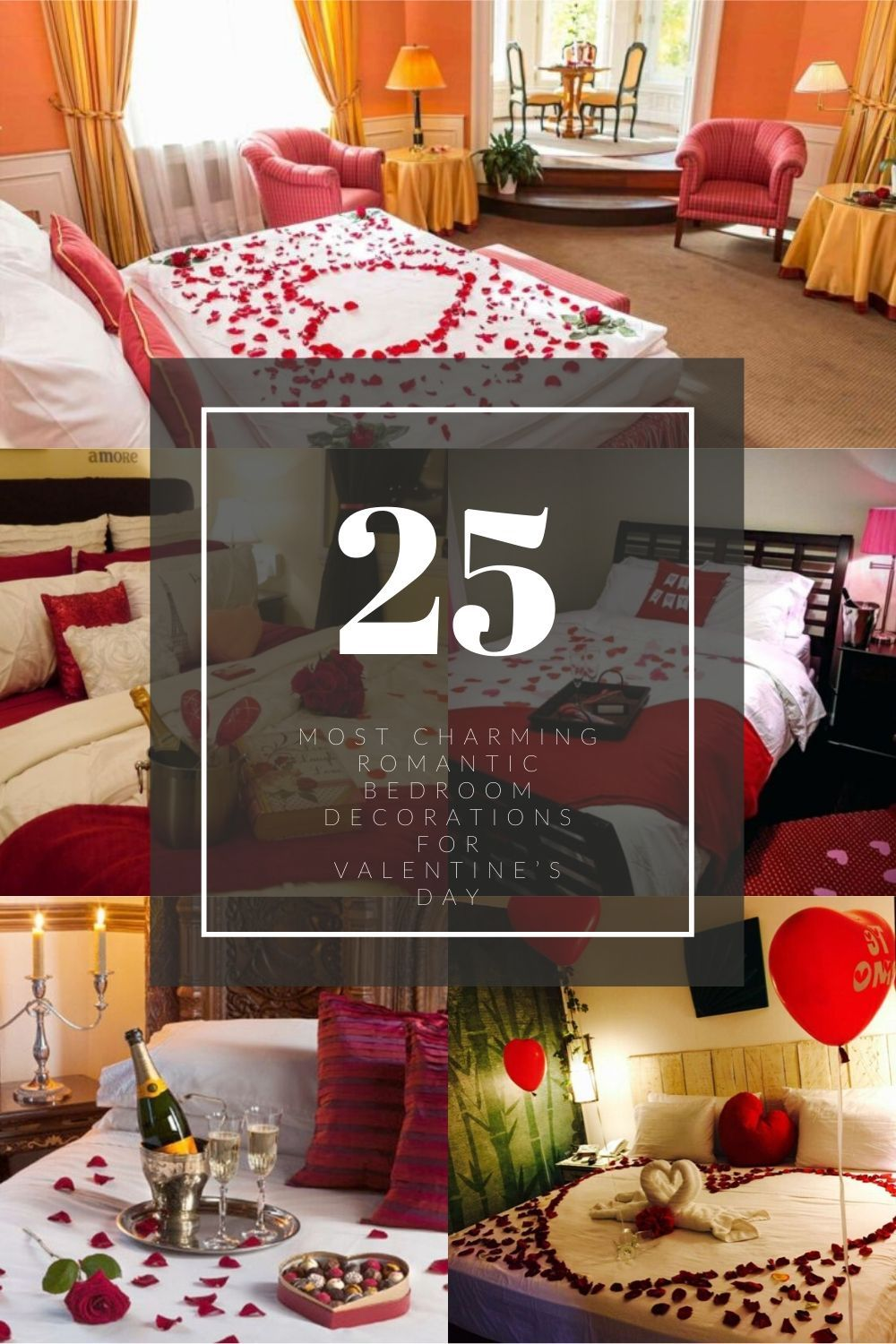 25+ Most Charming Romantic Bedroom Decorations For ...