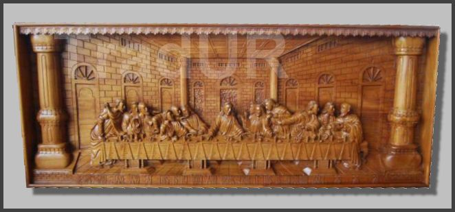 Last supper wood carving wooden carved all things wood