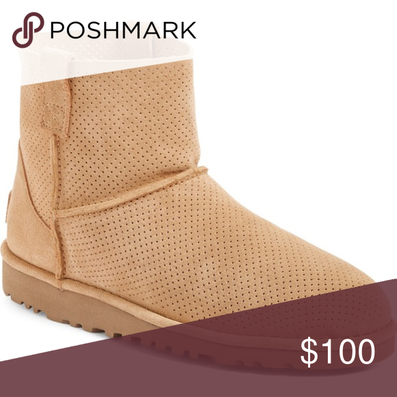 321a1f2883b UGG Australia Classic Perforated Bootie NWT in 2018 | My Posh Picks ...