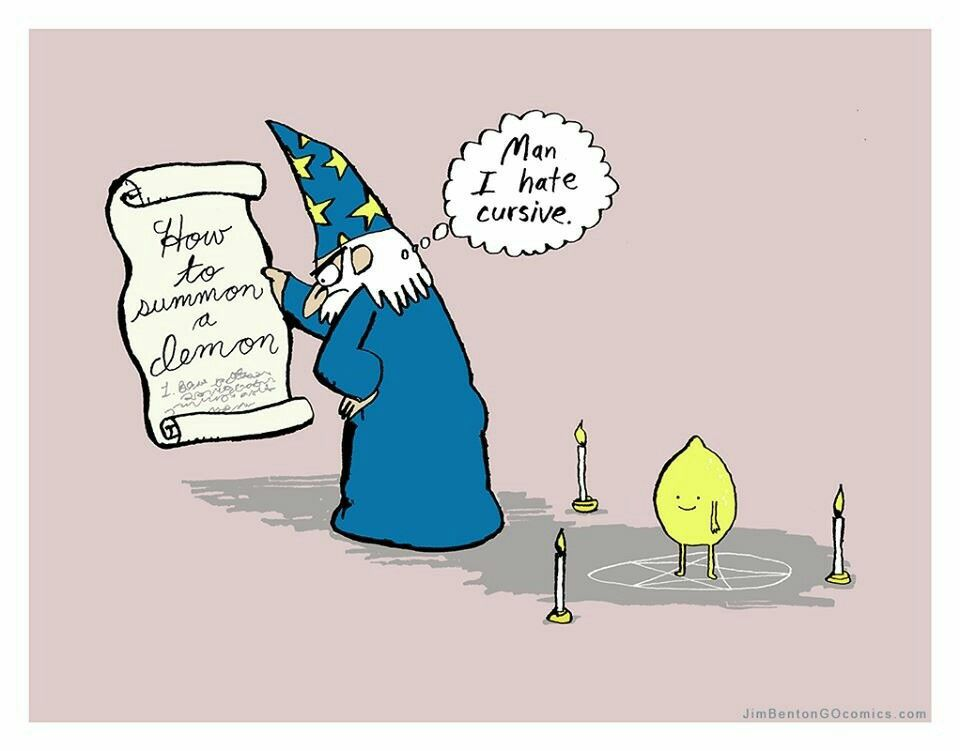 But that lemon looks so happy. I need to figure out how to summon limes for my margaritas now