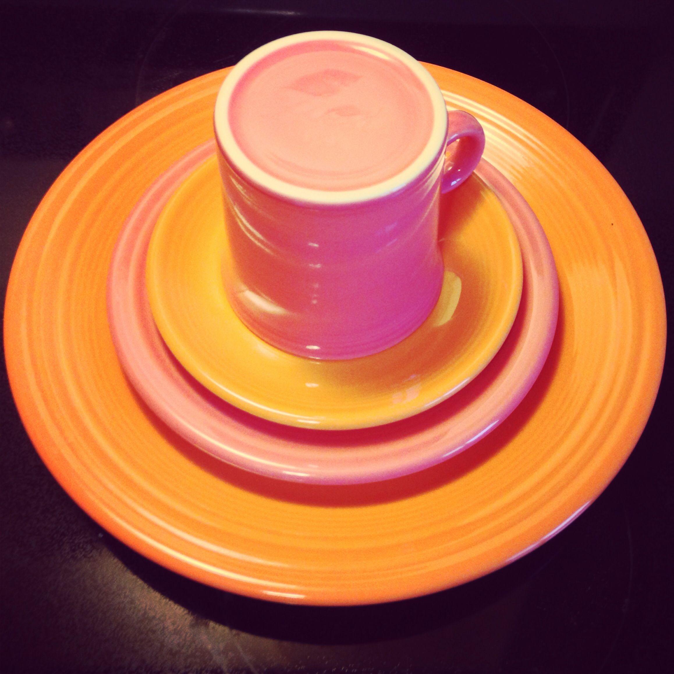 Flamingo \u0026 Tangerine Fiesta®; Flamingo is a retired P86 color. & Flamingo \u0026 Tangerine Fiesta®; Flamingo is a retired P86 color ...