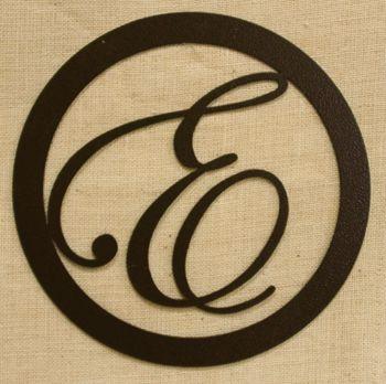 Monogram Metal Letter | Master Bedroom | Pinterest | Monograms ...