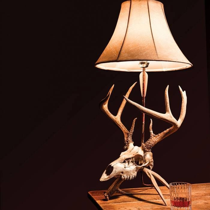 How To Make Antler Lamps 9 Steps With Pictures Antler Lamp Deer Antler Decor Deer Antler Crafts