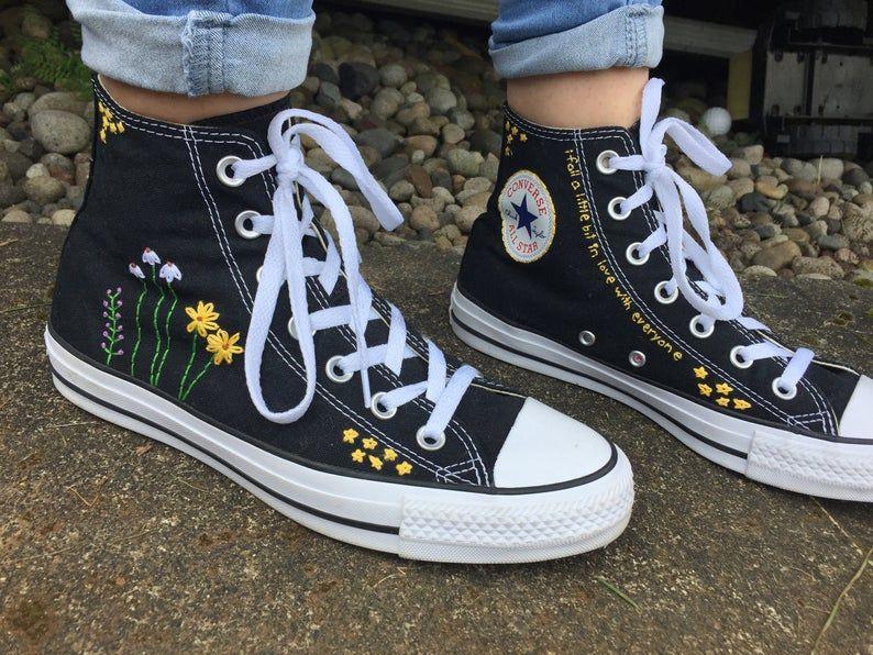 chaussures converse femme haute