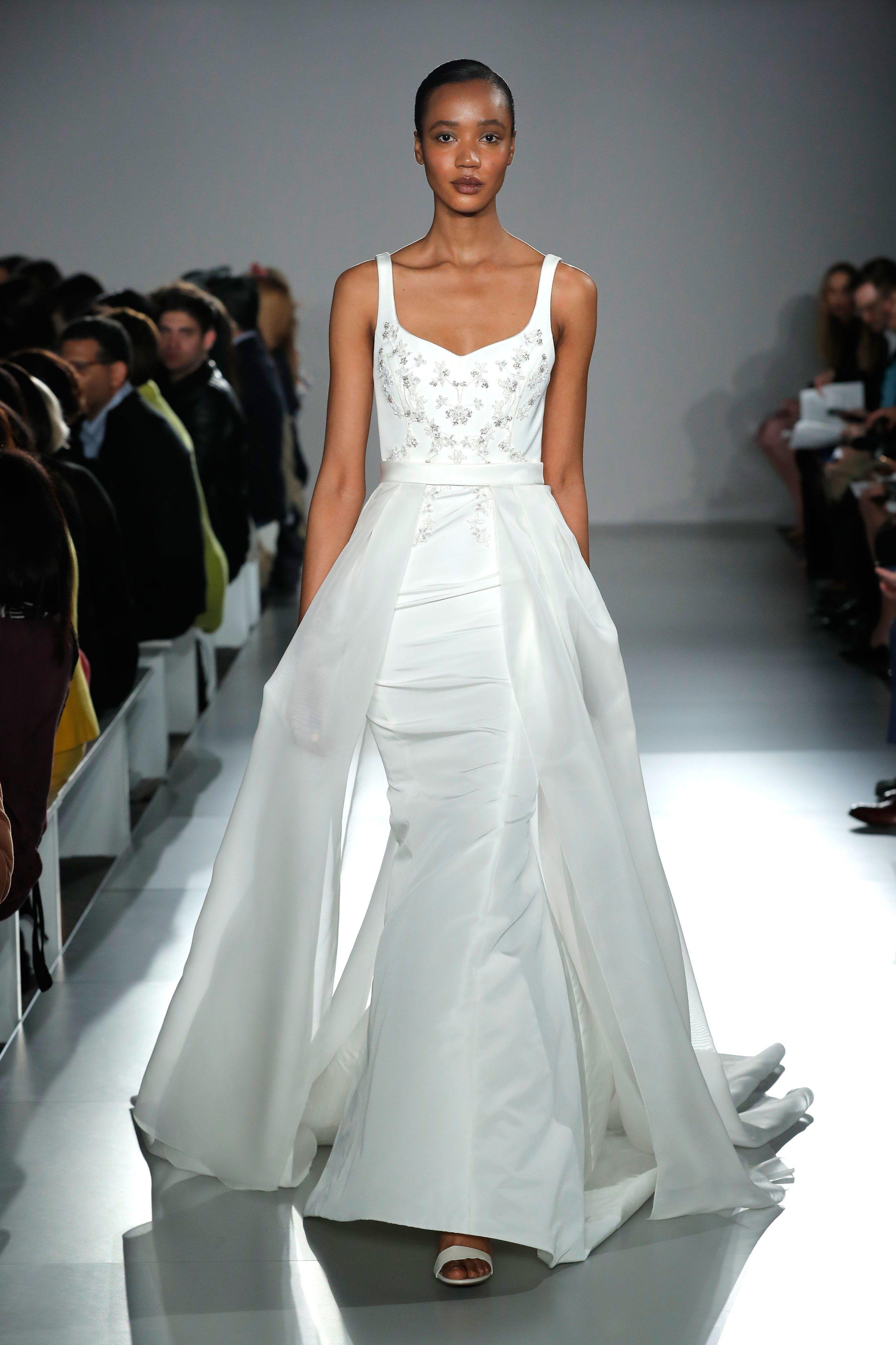 776fc7f640f4 Amsale Bridal Spring 2020 Fashion Show in 2019 | Stunning Bridal ...