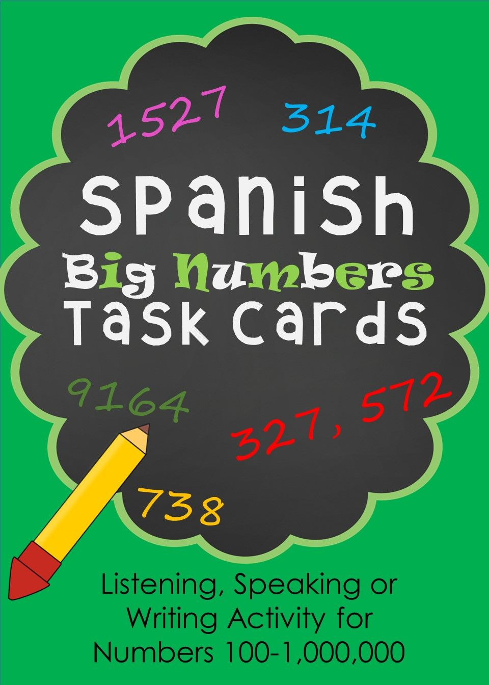 how to say big numbers in spanish