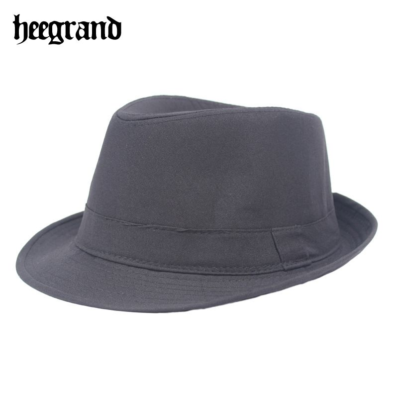 >> Click to Buy << HEE GRAND 2017 Wide Brim Men Fedora Hats Jazz Caps Flat Top Hat Gorras Casquette Brief Style Fedoras PMX049 #Affiliate
