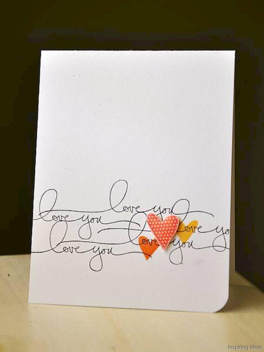 41 unforgetable valentine cards ideas homemade | aileen valentine ...
