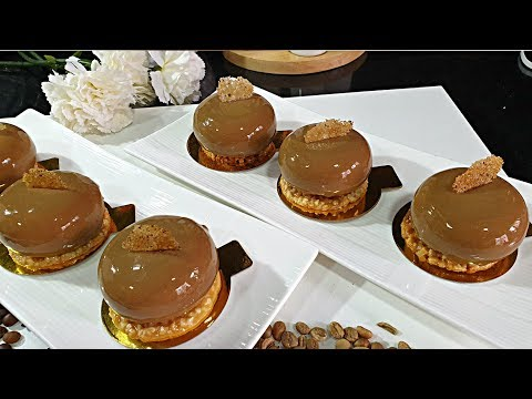 10 Entremet Au Cafe عودة الثلاثي البيضاء حلوى فردية راقية للمناسبات بنكهة القهوة وكلاصاج ميروارز Youtube Desserts Cheesecake Food