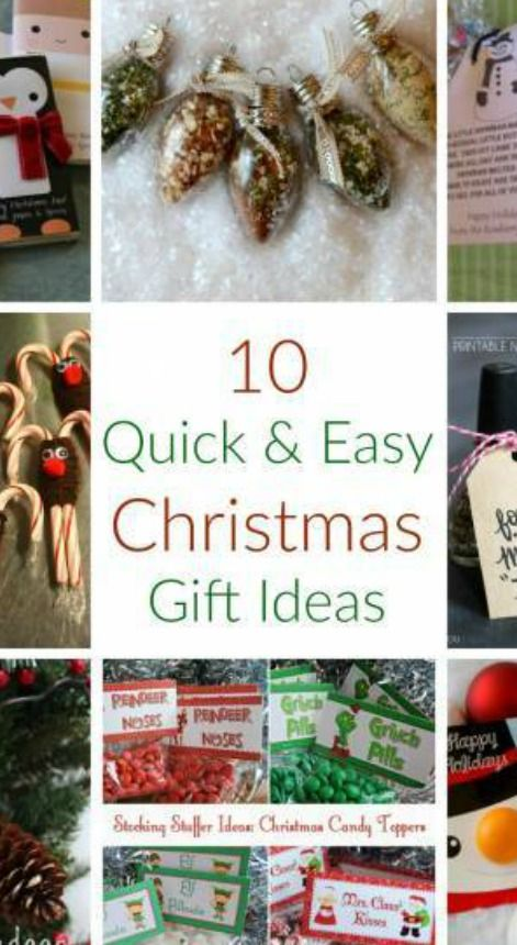 Christmas gifts you can make at home