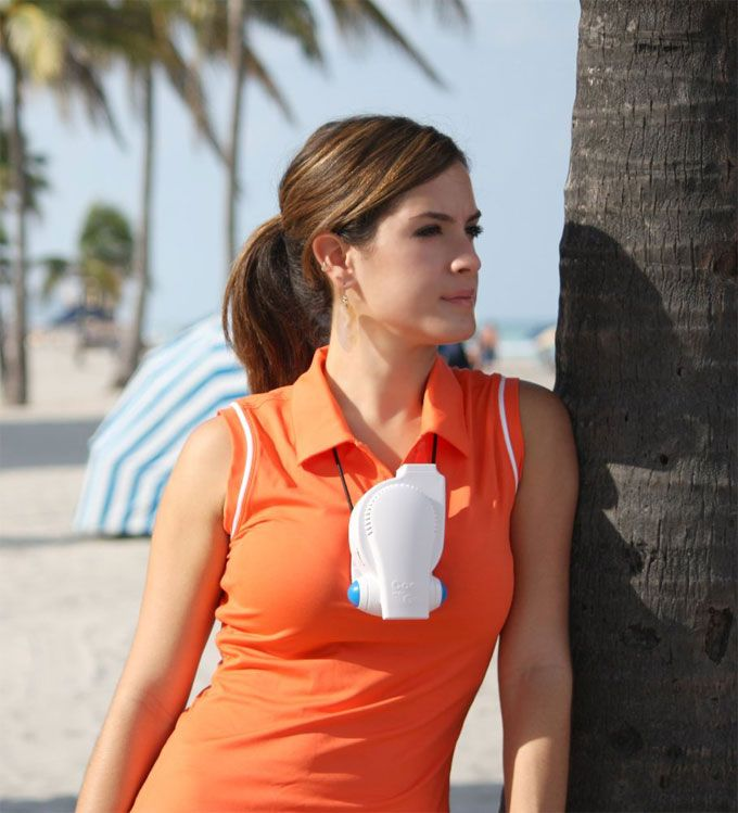 Personal Cooling Device Cool On The Go Allows You To Stay Cool