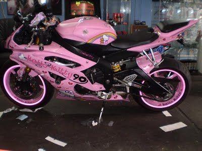 Hello Kitty Design For Motorcycle - hello kitty