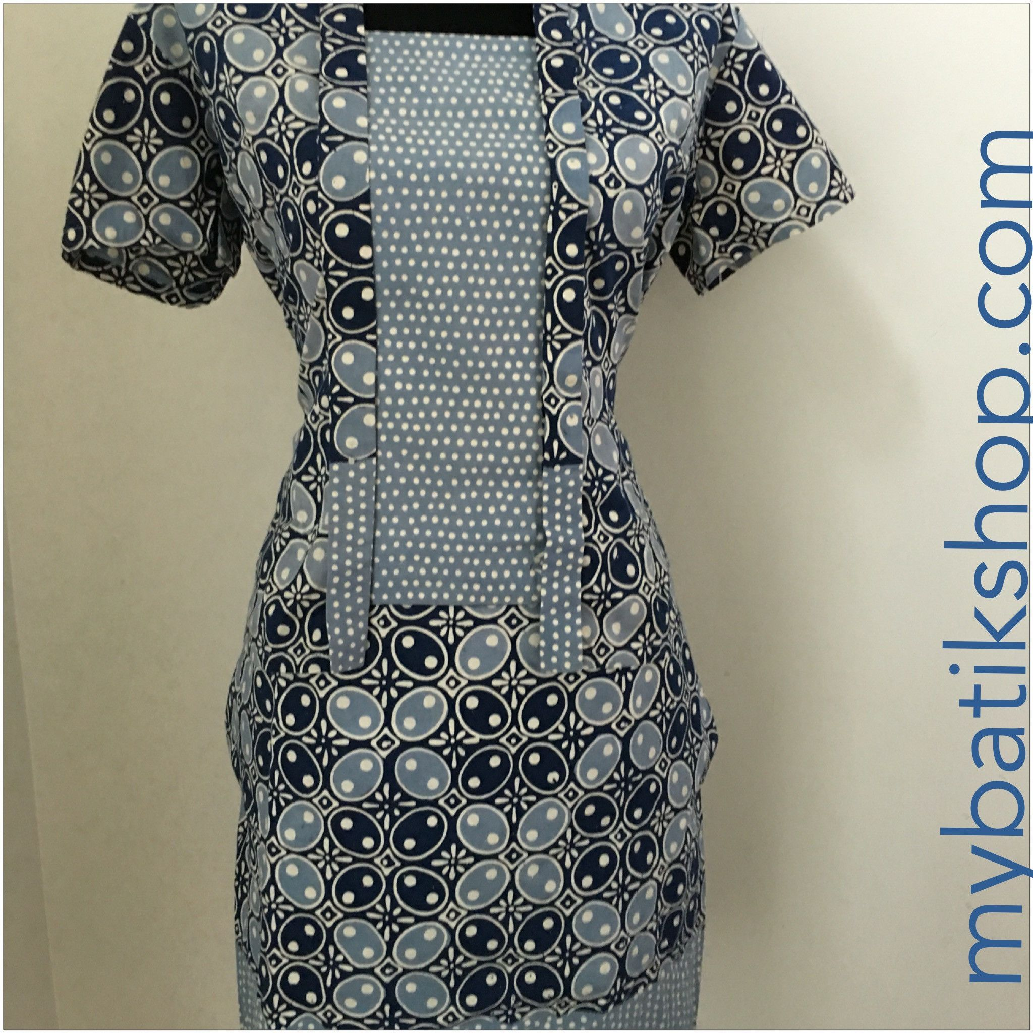 Batik Modern 2 piece Grace Blue